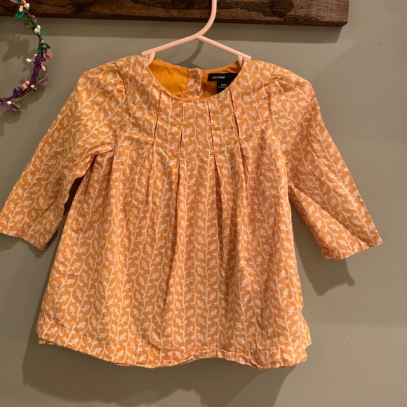 Mustard Bird Dress